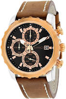 Roberto Bianci Mens Brown Bracelet Watch-Rb54470