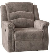 Max Lay Flat Power Lift Assist Recliner Southern Motion Body Fabric: Quick Silver Thistle