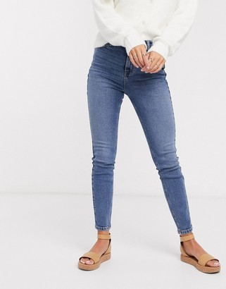 Urban Bliss high waisted skinny jeans in blue