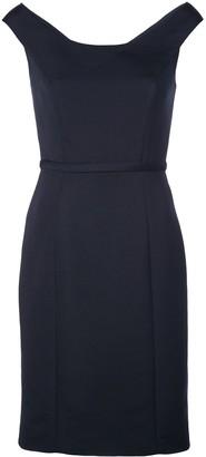 Amsale pencil cut dress