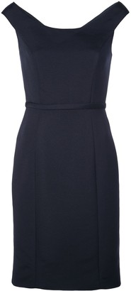 Amsale Pencil Cut Dress
