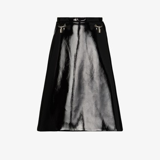 Christopher Kane A-line patent skirt