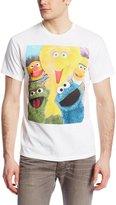 Sesame Street Men's Group T-Shirt