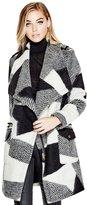 GUESS Women's Larisa Wrap Coat