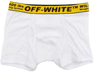 Off-White Underwear With Logo Jacquard Waistband