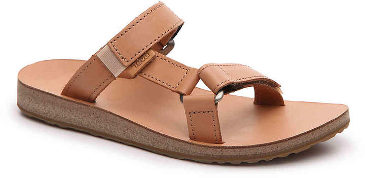 Teva Universal Slide Leather Flat Sandal - Women's