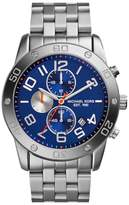 Michael Kors MK8348 Chronograph Blue Dial Stainless Steel Mens Watch