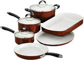 Tramontina Style Ceramica 9-pc. Metallic Copper Cookware and Bakeware Set