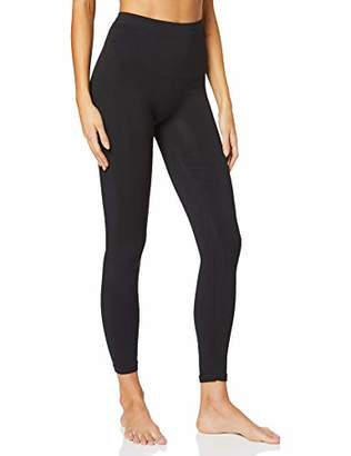 ANAISSA Women's Legging Altos Casual O para El Gym, Black (Negro Negro), 18 (Size: )