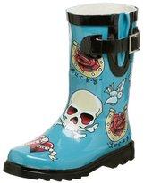 Toddler/Little Kid Tattoo City Rain Boot