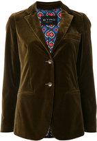 Etro fitted blazer - women - Cotton/Spandex/Elastane/Viscose - 40