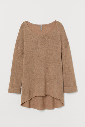 H&M Loose-knit Sweater - Beige