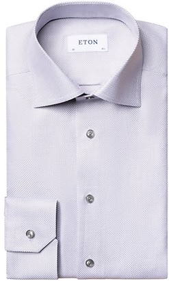 Eton Contemporary-Fit Twill Dress Shirt