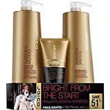 Joico K-Pak Color Therapy Shampoo+Conditioner Liter Set w/Revitaluxe Treatment