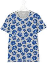 Kenzo multi tiger T-shirt - kids - Cotton/Polyester - 14 yrs