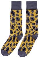 Paul Smith Camouflage intarsia socks