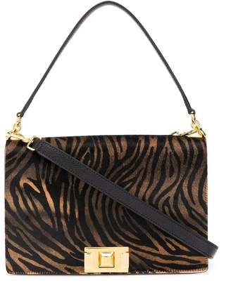 Furla animal print crossbody bag
