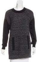 Akris Punto Paneled Knit Sweater