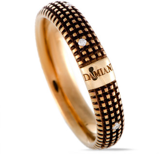 Damiani 18K & Rhodium Diamond Ring