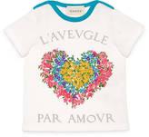 Gucci Baby corsage print t-shirt