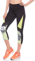 Jessica Simpson Color Block Perforated Capri Leggings
