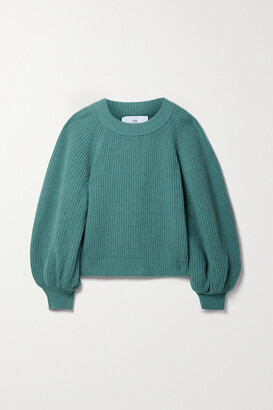 Mr. Mittens Ribbed Wool And Cashmere-blend Sweater
