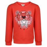 Kenzo Red Logo Sweater