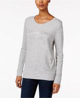 Calvin Klein Jeans Pleated Logo Sweatshirt