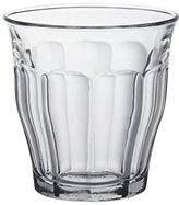 Duralex 25 cl Picardie Tumbler, Pack of 6, Clear Glass