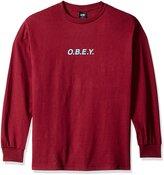 Obey Men's Branded Logo T-Shirt