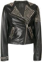 P.A.R.O.S.H. studded biker jacket