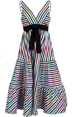 Silvia Tcherassi Catalina Del Mar Striped Dress