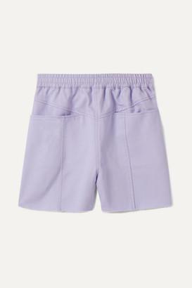 Paradised Kids - Lara Cotton-twill Shorts - Lavender