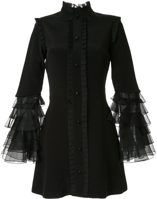 macgraw Sincerity ruffle sleeve dress