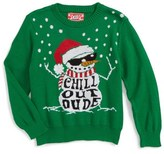 JEM Toddler Boy's Chill Out Dude Sweater