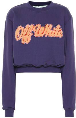 Off-White Off White Cotton-jersey sweater