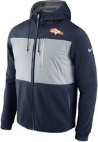 Nike Men's Denver Broncos Champ Drive Full Zip Hoodie