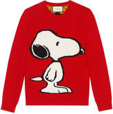 Gucci Snoopy tiger stripe sweater