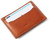 Frank & Oak Leather Card Holder in Cognac