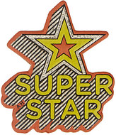 "Anya Hindmarch Women's ""Super Star"" Sticker-GOLD, NO COLOR"