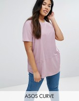 Asos T-Shirt in Rib Cutabout