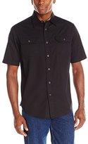 Wrangler Mens Short-Sleeve Classic Woven Shirt