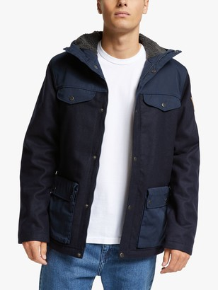 Fjallraven Greenland Re-Wool Water Resistant Jacket, Night Sky