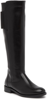 Italian Shoemakers Anna Leather Knee-High Boot