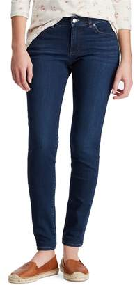 Chaps Petite Four Way-Stretch Denim Capri Jeans