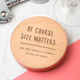 Dust and Things Personalised Funny Wine Coaster For Her