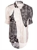 Acne Patia Kroko shirt