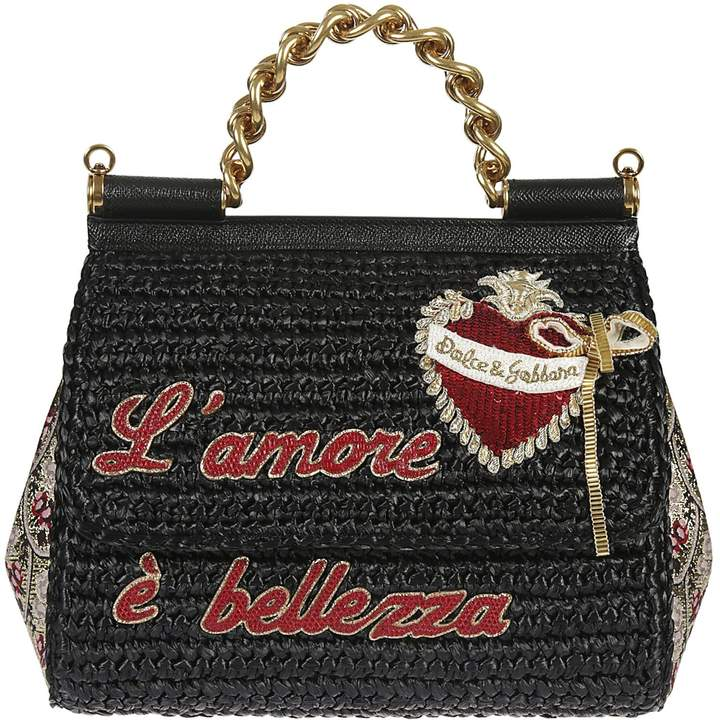 Dolce & Gabbana Embroidered Tote