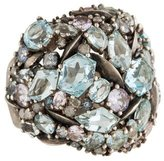 Alexis Bittar Heather Marquis Cluster Dome Cocktail Ring