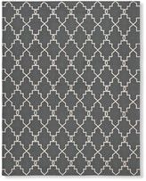 Moroccan Gate Indoor/Outdoor Rug, Gray